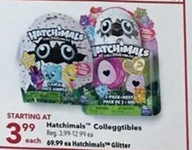 Joann Black Friday: Hatchimals Colleggtibles for $3.99