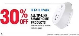 Navy Exchange Black Friday: TP-Link Smarthome Products - 30% Off