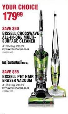 Navy Exchange Black Friday: Bissell Crosswave All-In-One Multi-Surface Cleaner for $179.99