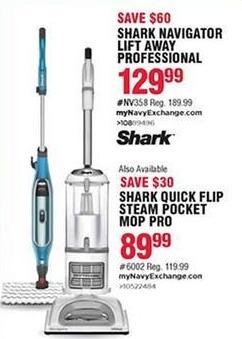 Navy Exchange Black Friday: Shark Navigator Lift Away Professional for $129.99