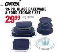Navy Exchange Black Friday: Pyrex 19-pc Glass Bakeware & Food Storage Set for $29.99