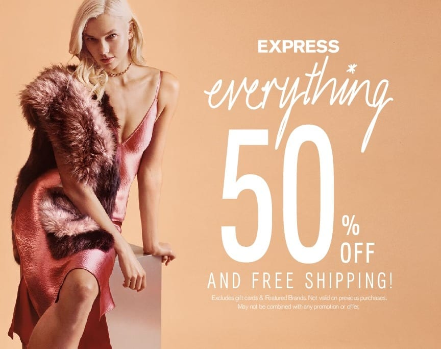 Express.com Black Friday: Everything - 50% Off