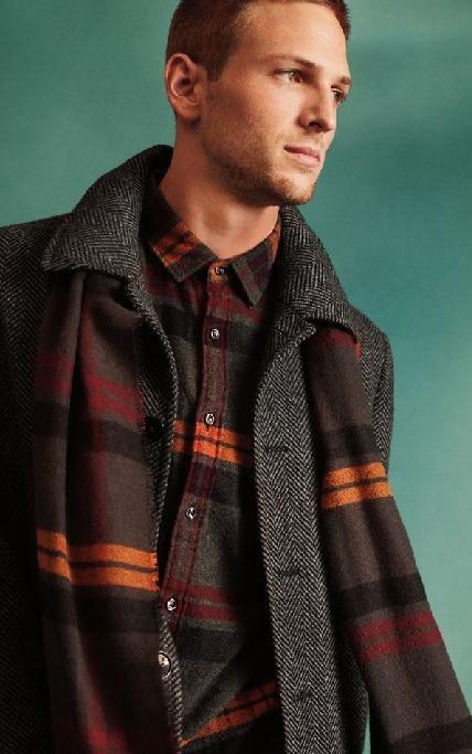 Express.com Black Friday: Wool Blend Topcoat for $298.00