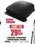 Blains Farm Fleet Black Friday: George Foreman Electric Removable Plate Grill for $29.99