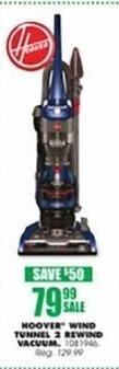 Blains Farm Fleet Black Friday: Hoover Windtunnel 2 Rewind Upright Vacuum for $79.99