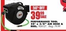 Blains Farm Fleet Black Friday: Performance Tool 50-ft. X 3/8-in. Air Hose & Drill for $39.99