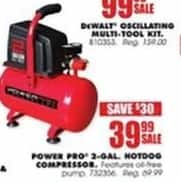 Blains Farm Fleet Black Friday: Power Pro 2-gal Hotdog Compressor for $39.99