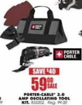 Blains Farm Fleet Black Friday: Porter-Cable 3.0 AMP Oscillating Tool Kit for $59.00