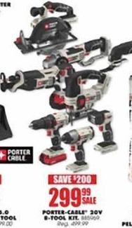 Blains Farm Fleet Black Friday: Porter-Cable 20V 8-Tool Kit for $299.99