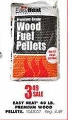 Blains Farm Fleet Black Friday: Easy Heat 40-lb Premium Wood Pellets for $3.49