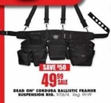 Blains Farm Fleet Black Friday: Dead On Cordura Ballistic Framer Suspension Rig for $49.99