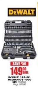 Blains Farm Fleet Black Friday: DeWalt 192-pc Mechanics Tool Set for $149.00