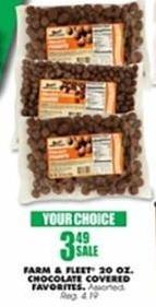 Blains Farm Fleet Black Friday: Farm & Fleet 20-oz Chocolate Covered Favorites for $3.49