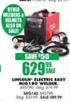 Blains Farm Fleet Black Friday: Lincoln Electric Easy MIG140 Welder for $489.99