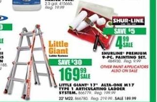 Blains Farm Fleet Black Friday: Little Giant Ladder System for $169.99