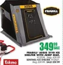 Blains Farm Fleet Black Friday: Frabill Sentinel 1100 Ice Shelter