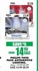 Blains Farm Fleet Black Friday: Philips Twin Pack Automotive Lighting for $14.99