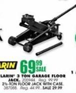 Blains Farm Fleet Black Friday: Larin 2-1/2-Ton Floor Jack w/ Case for $29.99