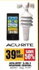 Blains Farm Fleet Black Friday: Acu-Rite 3-in-1 Weather Center for $39.99