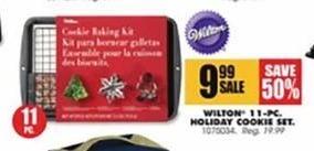 Blains Farm Fleet Black Friday: Wilton 11-pc Holiday Cookie Set for $9.99