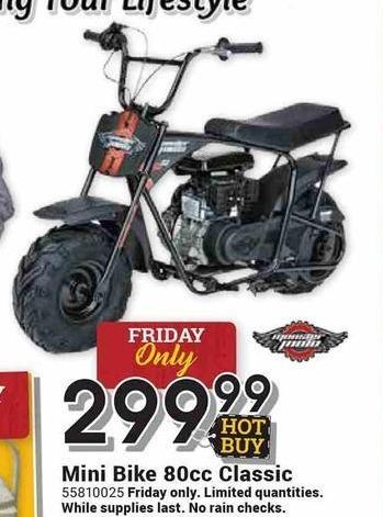 Farm and Home Supply Black Friday: Monster Moto 80cc Classic Mini Bike for $299.99