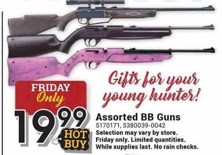 Farm and Home Supply Black Friday: Assorted BB Guns for $19.99