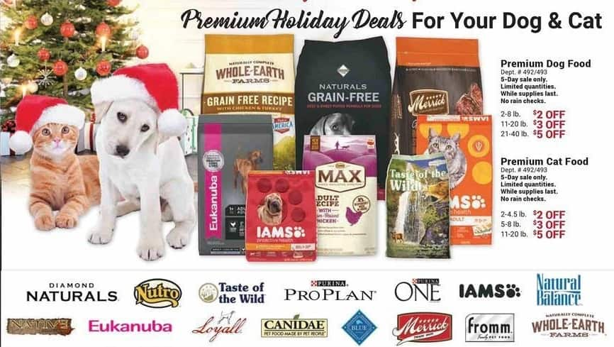 Farm and Home Supply Black Friday: Premium Dog Food 2-8lbs - $2 Off