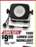 Northern Tool and Equipment Black Friday: Keystone LED Worklight 1000 Lumens for $9.99