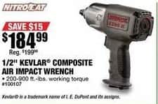 Northern Tool and Equipment Black Friday: NitroCat Kevlar Composite Air Impact Wrench for $184.99