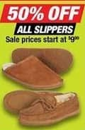 Northern Tool and Equipment Black Friday: Slippers - 50% Off