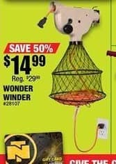 Northern Tool and Equipment Black Friday: Wonder Winder Extension Cord Winding System for $14.99