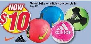 Modells Black Friday: Select Nike or Adidas Soccer Balls for $10.00
