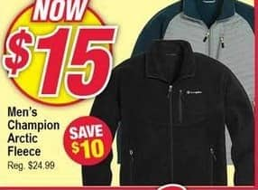 Modells Black Friday: Champion Arctic Fleece for Men for $15.00