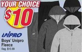 Modells Black Friday: Unipro Fleece for Boys for $10.00