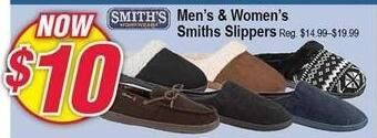 Modells Black Friday: Smith's Slippers for $10.00