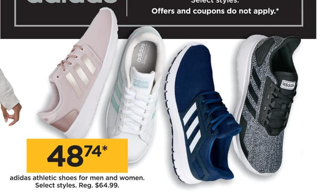 Kohl S Black Friday Adidas Athletic Shoes For Men And Women For