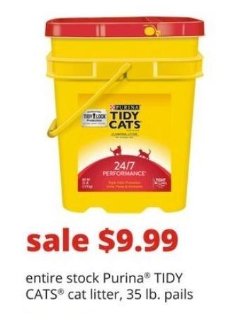 PetSmart Black Friday: Entire Stock of Purina Tidy Cats