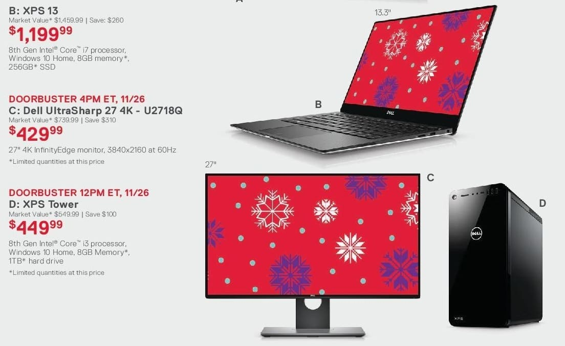 Dell Home & Office Cyber Monday: 27