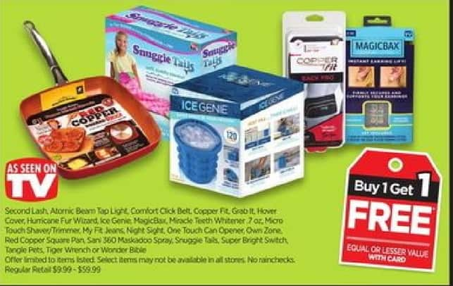 Rite Aid Black Friday: Select As Seen on TV Items w/Card