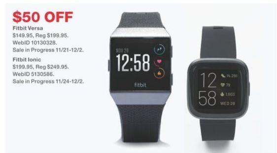Macy's Black Friday: Fitbit Versa 2 Smartwatch for $149.95