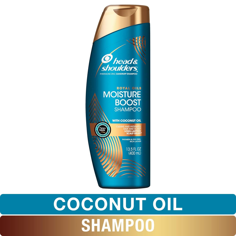 Head and Shoulders Royal Oils Moisture Boost Shampoo with Coconut Oil, 13.5 fl oz - $4.61 @ Amazon