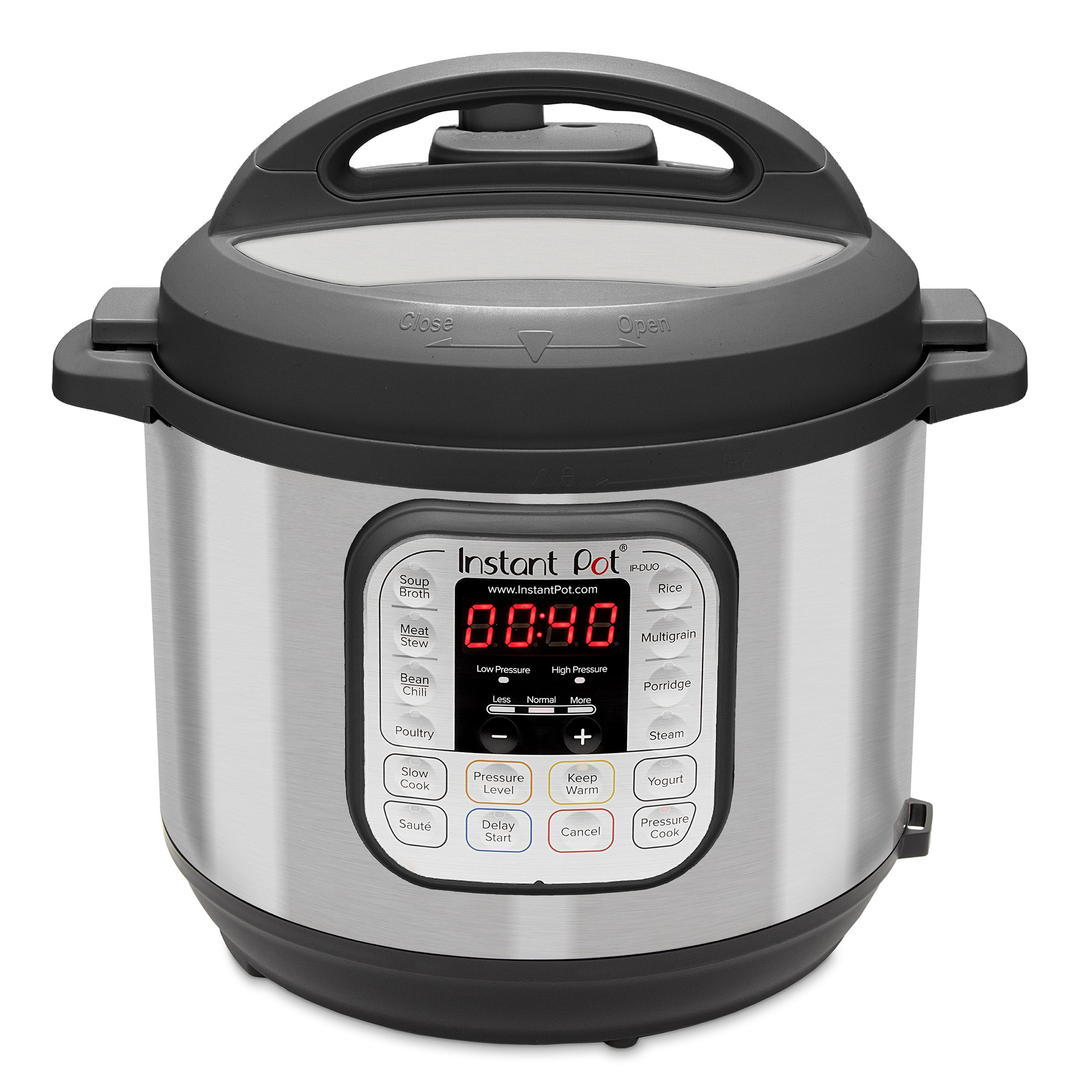 Instant Pot DUO60 6 Qt 7-in-1 Multi-Use Programmable Pressure Cooker, Slow Cooker, Rice Cooker, Sauté, Steamer, Yogurt Maker and Warmer $49