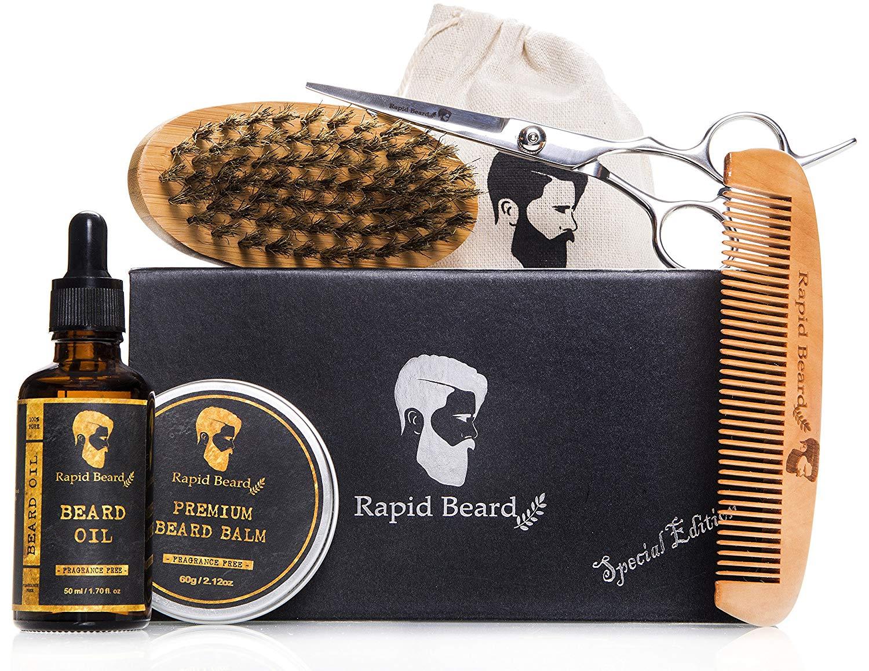 Beard Grooming & Trimming Kit for Men Care $17.48