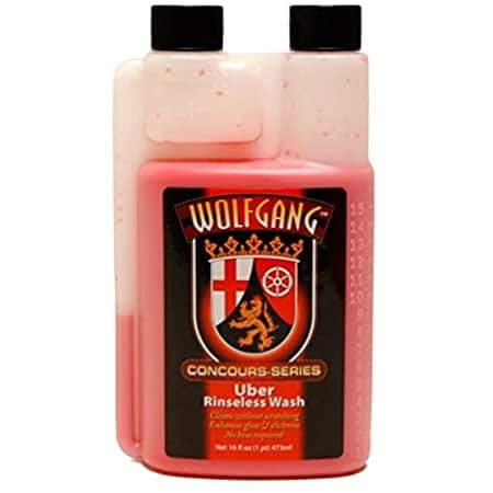 WOLFGANG CONCOURS SERIES Uber Rinse Less Wash (16oz) - $12.99