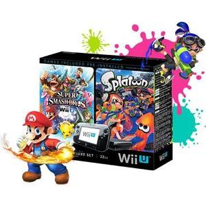 Nintendo Wii U Bundle with Smash Bros & Splatoon @ Fry's.    $249.99 with store pickup