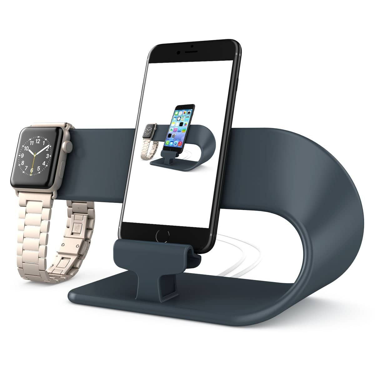Apple Watch and iPhone Charging Stand Station 50% OFF ONLY $11.99+FS(Prime) @Amazon