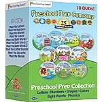 Preschool Prep Collection - 10 DVD Boxed Set @ Groupon $39.99 (compared to Amazon at $97.75)