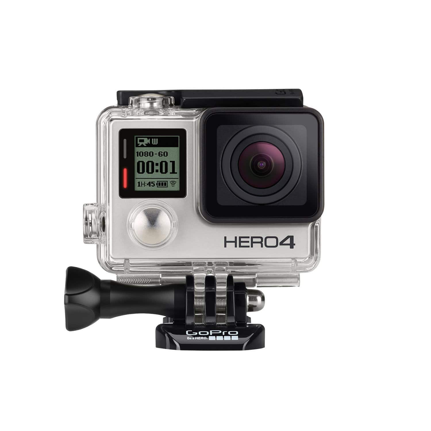 GoPro Hero4 Silver + Extra battery + Dual battery charger + SanDisk 16GB MicroSD $250 @ Costco *B&M YMMV Deal*