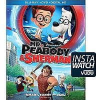 Target Deal: Mr. Peabody & Sherman (Blu-ray / DVD + Digital Copy) - as Low as $4 (Target) or $5 (Walmart) B&M