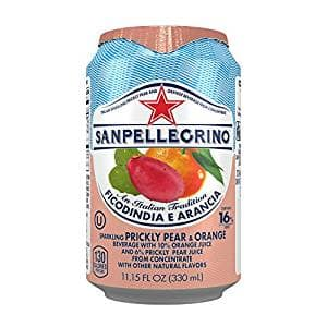 San Pelligrino Prickly Pear and Orange  24 pack Amazon Prime $13.48